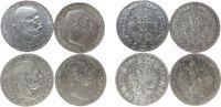 4 x 5 Kronen 1900-09 Österreich Ag Franz Joseph I (1848-1916), 1900, 19... 80,00 EUR  zzgl. 6,00 EUR Versand