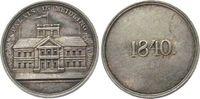 Österreich Silbermedaille Silber Ferdinand I (1835-48), auf das Palais in Meidling, Schloßansicht / 1840,