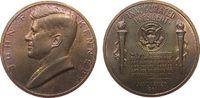 Medaille 1961 USA Kupfer Kennedy John F.  (1917 - 1963) - auf seine Ver... 9,50 EUR  zzgl. 3,95 EUR Versand