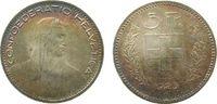 5 Franken 1923 Schweiz Ag HMZ 1199, Patina vz  75,00 EUR  zzgl. 6,00 EUR Versand
