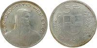 5 Franken 1923 Schweiz Ag HMZ 1199 vz  75,00 EUR  zzgl. 6,00 EUR Versand