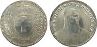 5 Franken 1923 Schweiz Ag HMZ 1199 vz+  90,00 EUR  zzgl. 6,00 EUR Versand