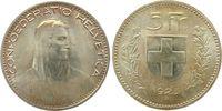 5 Franken 1923 Schweiz Ag HMZ 1199, Divo 354, wenige Kontaktmarken, Pra... 140,00 EUR  zzgl. 6,00 EUR Versand