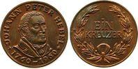 Kreuzer 1960 Personen Bronze Hebel Johannes Peter  (1760-1826), Dichter... 17,00 EUR  zzgl. 3,95 EUR Versand