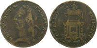 Jeton 1743 Frankreich Bronze Louis XV (1715-74), Optimo Pricipi, ca. 23... 17,00 EUR  zzgl. 3,95 EUR Versand