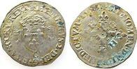 1 Douzai aux croissants 1553 Frankreich Ag Henri II (1547-59), Mzz: C (... 84,00 EUR  zzgl. 6,00 EUR Versand