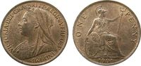 1 Penny 1901 Großbritannien Br Victoria stgl-  45,00 EUR  zzgl. 3,95 EUR Versand
