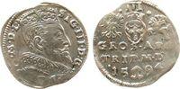 3 Gröscher 1594 Litauen Ag Sigismund III (1587-1632) ss+  78,50 EUR  zzgl. 6,00 EUR Versand