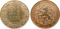 2 1/2 Cent 1906 Niederlande Br Wilhelmina I,Schön 16, Schulman 953 stgl  56,50 EUR  zzgl. 6,00 EUR Versand