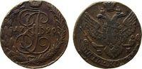 5 Kopeken 1790 Rußland Ku Katharina II (1762-96), EM Ekaterinburg, Uzde... 56,50 EUR  zzgl. 6,00 EUR Versand