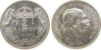 2 Kronen 1913 Ungarn Ag Franz Joseph I stgl-  33,50 EUR  zzgl. 3,95 EUR Versand