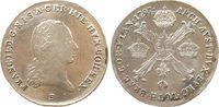 1/4 Kronentaler 1797 Österreich Ag Franz II, B (Kremnitz), leicht justi... 56,50 EUR  zzgl. 6,00 EUR Versand