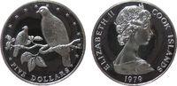 5 Dollar 1979 Cook Inseln Ag Elisabeth II, Rarontonge Fruchttaube, etwa... 22,50 EUR  zzgl. 3,95 EUR Versand