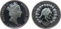 5 Dollar 2000 Australien Ag Olympiade, Rotes Riesenkänguruh pp  37,50 EUR  zzgl. 3,95 EUR Versand