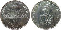 50 Gourdes 1973 Haiti Ag Fußball WM, fleckig pp  15,00 EUR  zzgl. 3,95 EUR Versand