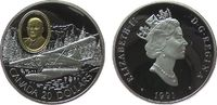 20 Dollar 1991 Kanada Ag de Haviland Beaver, mit Gold-Inlay, ohne Box o... 25,00 EUR  zzgl. 3,95 EUR Versand