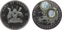 1000 Shillings 1999 Uganda KN Einführung des Euro, Niederlande 1 Euro, ... 20,00 EUR  zzgl. 3,95 EUR Versand