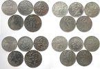 475 Korun 1948 - Tschechoslowakei Ag Lot zu 10 Münzen, im Durchschnitt ... 59,50 EUR  zzgl. 6,00 EUR Versand
