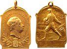 Abzeichen 1903 Luxemburg Bronze vergoldet Adolphe (1890-1905) - Cercle ... 105,00 EUR  zzgl. 6,00 EUR Versand