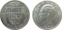 50 Francs 1939 Belgien Ag Leopold III (1934-1950), Belgique-Belgie ss-vz  15,00 EUR  zzgl. 3,95 EUR Versand