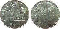 20 Francs 1951 Belgien Ag Baudouin I (1951-1993), Belgie vz  7,50 EUR  zzgl. 3,95 EUR Versand
