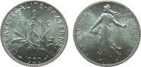 1 Franc 1920 Frankreich Ag Semeuse unz  11,50 EUR  zzgl. 3,95 EUR Versand
