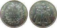 10 Francs 1965 Frankreich Ag Herculesgruppe vz-unc  28,00 EUR  zzgl. 3,95 EUR Versand