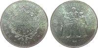 50 Francs 1978 Frankreich Ag Herkulesgruppe ss  22,50 EUR  zzgl. 3,95 EUR Versand