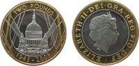 2 Pfund 2005 Großbritannien Ag/Au Elisabeth II, 60 Jt. Ende des 2. Welt... 30,00 EUR  zzgl. 3,95 EUR Versand