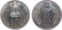 10 Rupie 1973 Indien Republik Ag FAO, Bombay unz  20,00 EUR  zzgl. 3,95 EUR Versand