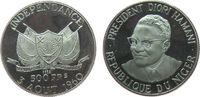 500 Francs 1960 Niger Ag 5 Jt. Unabhägigkeit, Präsident Diori Hamani, P... 40,00 EUR  zzgl. 3,95 EUR Versand