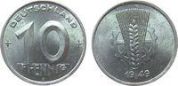 10 Pfennig 1949 DDR Al A, Berlin fast stgl  22,50 EUR  zzgl. 3,95 EUR Versand
