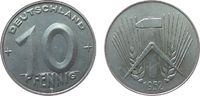 10 Pfennig 1952 DDR Al E, Muldenhütten vz  14,00 EUR  zzgl. 3,95 EUR Versand