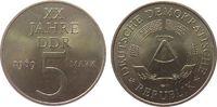 5 Mark 1969 DDR Ni-Br 20 Jahre DDR vz-unc  7,50 EUR  zzgl. 3,95 EUR Versand