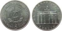 5 Mark 1980 DDR NS Brandenburger Tor, etwas fleckig vz-stgl  12,50 EUR  zzgl. 3,95 EUR Versand