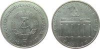 5 Mark 1982 DDR NS Brandenburger Tor vz-stgl  15,00 EUR  zzgl. 3,95 EUR Versand