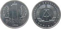 1 Pfennig 1984 DDR Al A, Berlin, Export stgl  2,00 EUR  zzgl. 3,95 EUR Versand