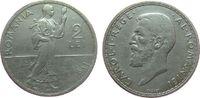 2 Lei 1911 Rumänien Ag Carol I ss  30,00 EUR  zzgl. 3,95 EUR Versand