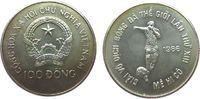 100 Dong 1986 Vietnam Ag Fußball WM Mexiko, Patina unz  22,50 EUR  zzgl. 3,95 EUR Versand