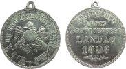 tragbare Medaille 1898 Schützen Zink vernickelt (?) Landau (Pfalz) - Er... 30,00 EUR  zzgl. 3,95 EUR Versand