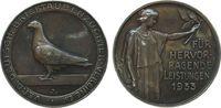 Medaille 1933 Weimarer Republik Silber Brieftauben, für hervorragende L... 85,00 EUR  zzgl. 6,00 EUR Versand