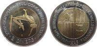2 Deniers 1985 Andorra Bi-Met. Olympiade Hochsprung, kleiner Fleck unz  18,50 EUR  zzgl. 3,95 EUR Versand