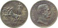 1 Lire 1917 Italien Ag Victor Emanuel III, kleiner Randstoß ss+  25,00 EUR  zzgl. 3,95 EUR Versand