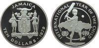 10 Dollar 1979 Jamaika Ag Internationales Jahr des Kindes, etwas flecki... 20,00 EUR  zzgl. 3,95 EUR Versand