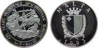 5 Liri / 10 Ecu 1993 Malta Ag 430. Jahrestag der Belagerung von Valetta... 25,00 EUR  zzgl. 3,95 EUR Versand