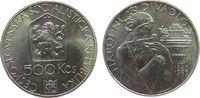 500 Korun 1983 Tschechoslowakei Ag Prager Theater unz  55,00 EUR  zzgl. 6,00 EUR Versand