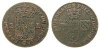 2 Liards 1709 Belgien Brabant Ku Namur, Philipp V von Spanien, PHIL. V.... 135,00 EUR  zzgl. 6,00 EUR Versand