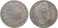 5 Francs 1838 Frankreich Ag Louis Philippe I, W (Lille) fast ss  33,50 EUR  zzgl. 3,95 EUR Versand