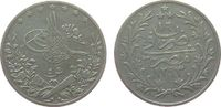 5 Qirsh 1891 Ägypten Ag Adbul Hamid II (1876-1909), AH1293/16, W ss  12,00 EUR  zzgl. 3,95 EUR Versand