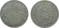 5 Qirsh 1908 Ägypten Ag Adbul Hamid II (1876-1909), AH1293/33 H ss  8,50 EUR  zzgl. 3,95 EUR Versand